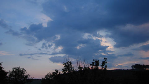 Timelapse clouds 11 Footage
