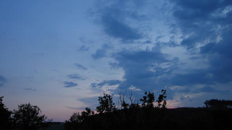 Timelapse clouds 11 Stock Video Footage