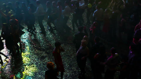 People dancing on party Footage