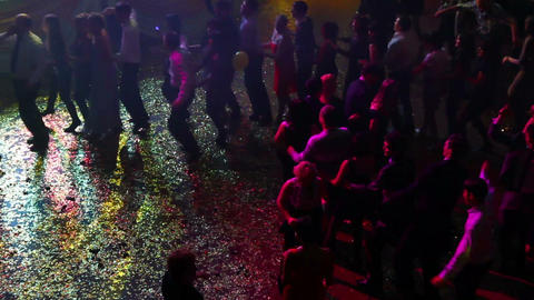 People dancing on party Stock Video Footage