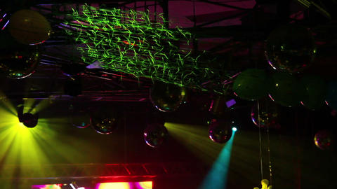 lighting equipment at concert Footage