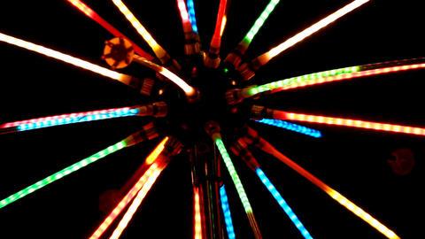 illumination color lights background Stock Video Footage