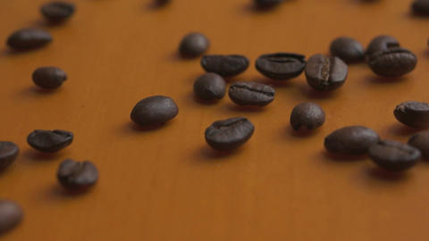 Coffee Bean Macro Dolly Stock Video Footage