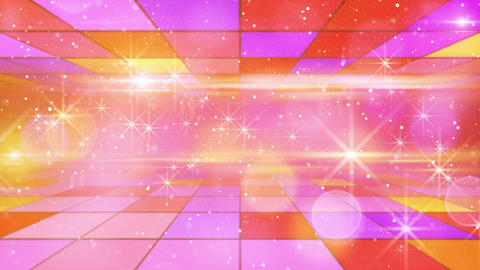 multicolor shining festive background loop Stock Video Footage