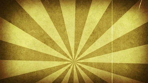yellow grungy rays loop background Stock Video Footage