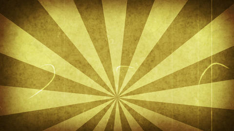 yellow grungy rays loop background Animation