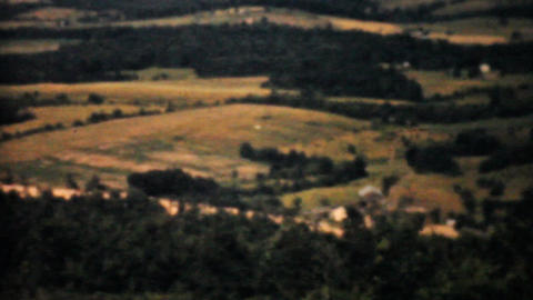 Amish Country In Pennsylvania 1940 Vintage 8mm Stock Video Footage
