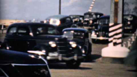Rush Hour Traffic And New Interstate Highway 1940 Footage
