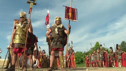 roman legion 04 Footage