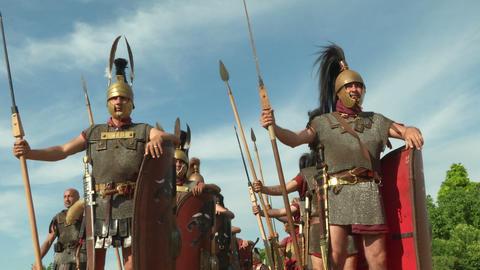 roman legion 12 Footage