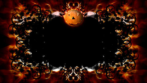 Halloween Intro stock footage