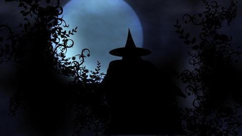halloween intro 4 Stock Video Footage