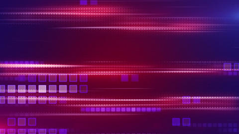 magenta stripes and squares tech background loop Stock Video Footage
