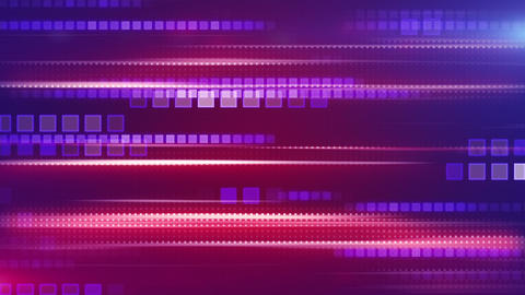 magenta stripes and squares tech background loop Animation
