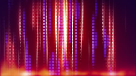 red blue stripes modern loop background Stock Video Footage