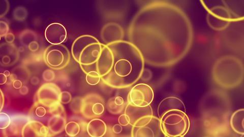 glowing yellow circle lights seamless loop backgro Animation