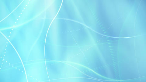 blue soft lights and curves loopable background Animation