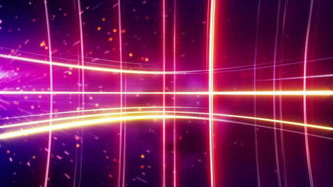 glowing stripes red loopable background Stock Video Footage
