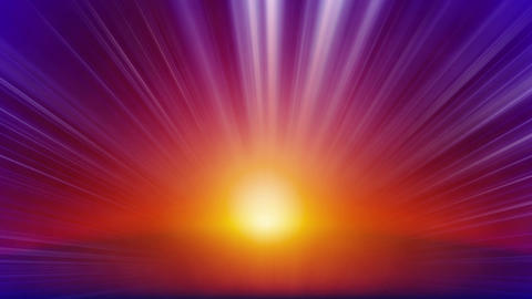 orange blue rays of light loop background Animation