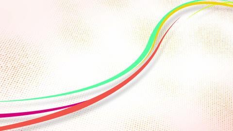 curvy colorful lines loop Stock Video Footage