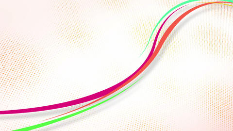 curvy colorful lines loop Animation