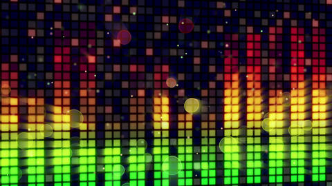 sound level meter equalizer loopable background Animation