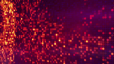 circle pixel waves abstract loopable background Stock Video Footage
