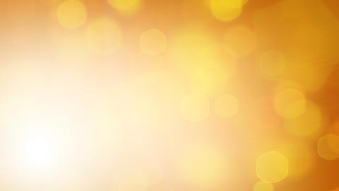 yellow loopable background hexagonal lights Stock Video Footage