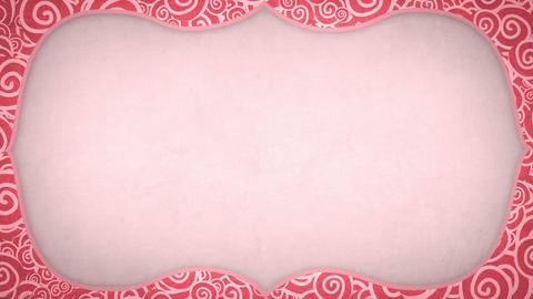 curles pattern frame seamless loop Stock Video Footage