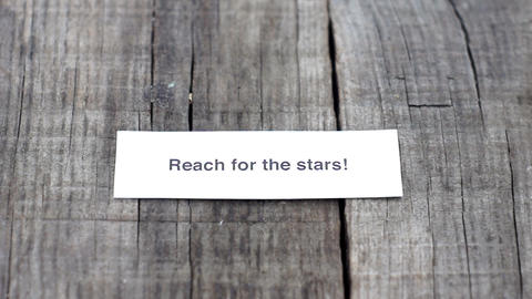 Reach for the stars Stock Video Footage