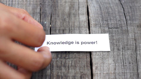 Knowledge is Power Footage
