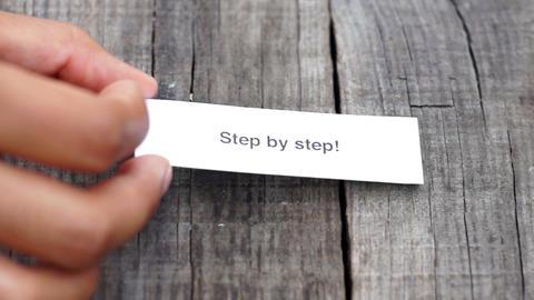 Step by Step Footage