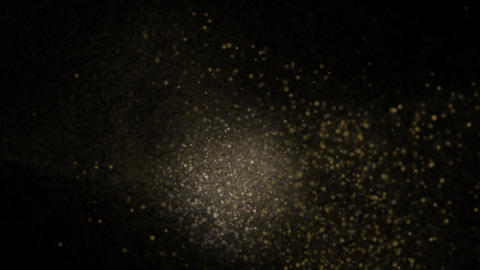 Dusty Particles Animation