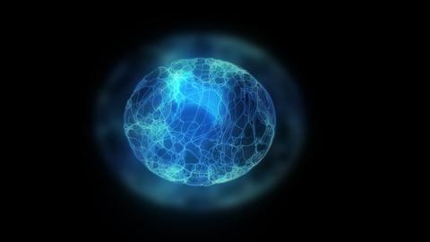 glow Energy Ball 2 Stock Video Footage