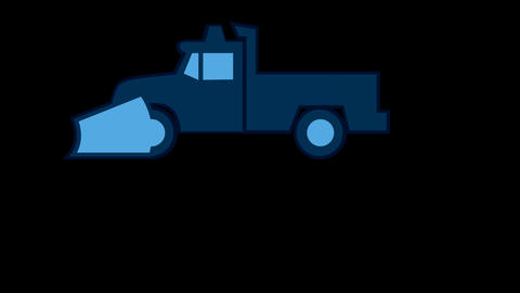 snow Plow Animation