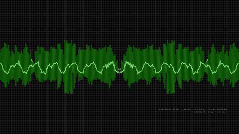 Waveform 2 Stock Video Footage