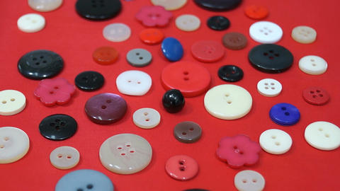 Buttons Stock Video Footage