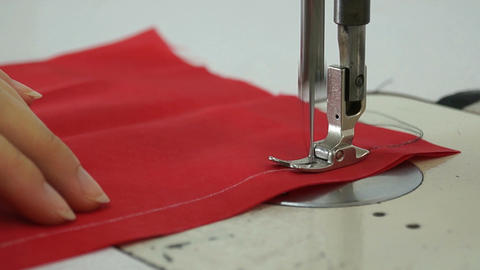 Sewing Stock Video Footage