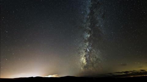galaxy milky way turn right 11100 Stock Video Footage