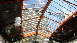 Glass and steel pavilion of Fish! Borough Market at... Stock Video Footage