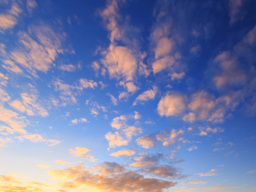 The sky cleared at sunset. Time Lapse Stock Video Footage