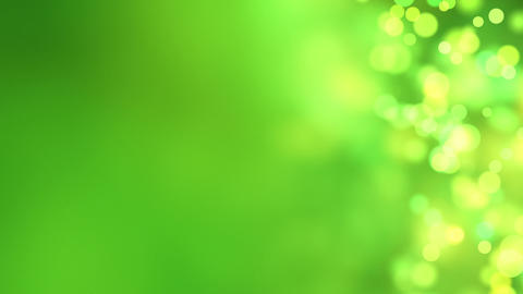 loopable abstract background green bokeh circles Stock Video Footage