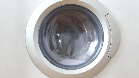 sequence of using washing machine Footage