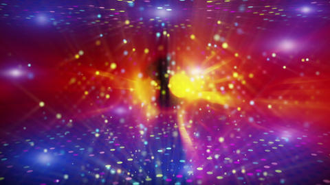 shiny disco abstract loopable background Stock Video Footage
