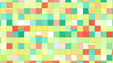 colorful tiles loopable backgrounds Stock Video Footage