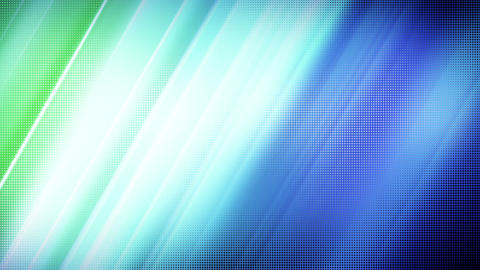 blue green stripes loop background Stock Video Footage