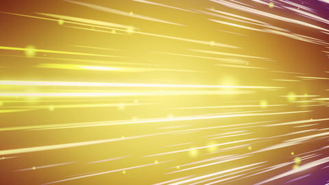 lines and blurred circles yellow loop background Stock Video Footage