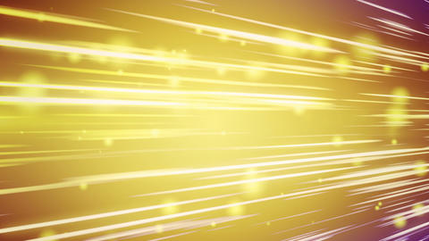 lines and blurred circles yellow loop background Animation