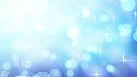 blue blinking bokeh lights loop Animation