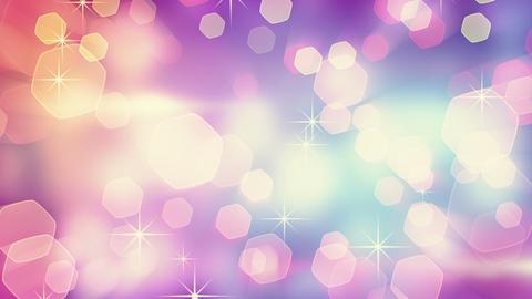 delicate blinking bokeh lights loop Stock Video Footage
